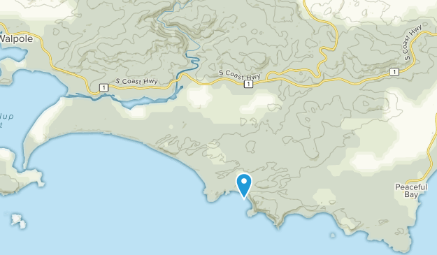 Nornalup, Western Australia Map