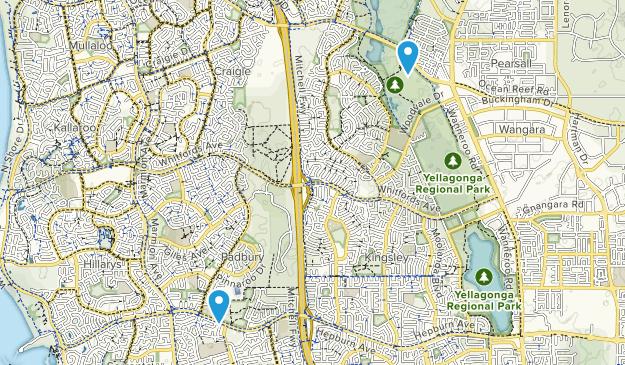 Padbury, Western Australia Map