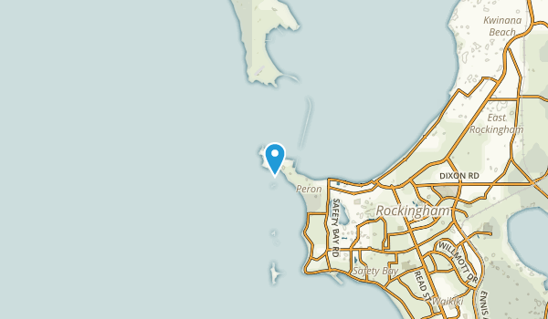 Peron, Western Australia Map