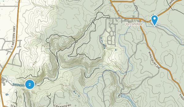 Serpentine, Western Australia Map