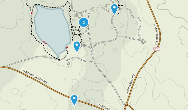 Two Rocks, Western Australia Map