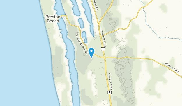 Wagerup, Western Australia Map