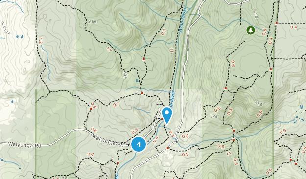 Australia Map In R.Best Trails Near Walyunga National Park Western Australia Australia
