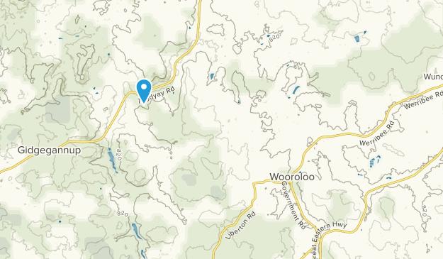 Wooroloo, Western Australia Map