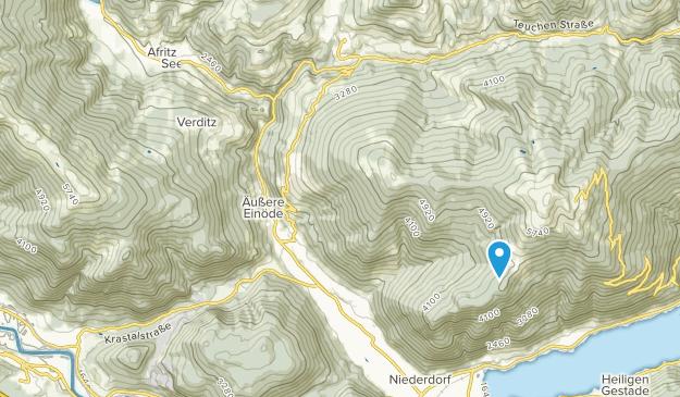 Treffen am Ossiacher See, Carinthia Map