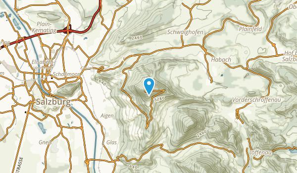Winkl, Salzburg Map