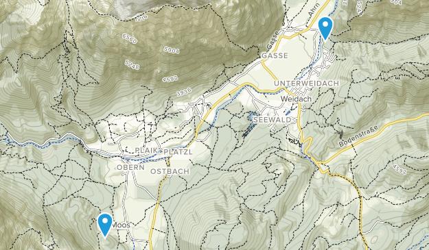 Ahrn, Tyrol Map