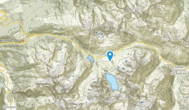 Kühtai, Tyrol Map