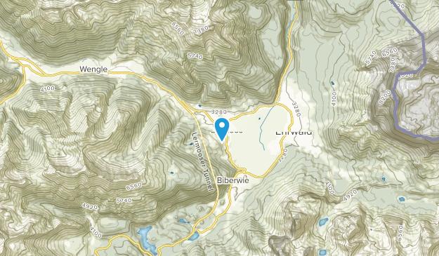 Lermoos, Tyrol Map