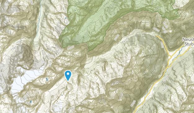 Oberberg, Tyrol Map