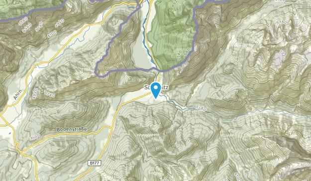 Scharnitz, Tyrol Map