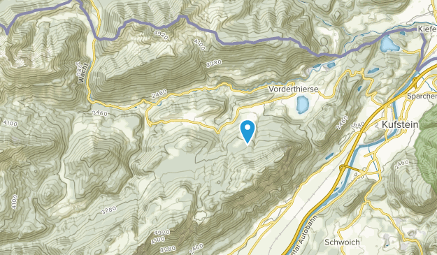Thiersee, Tyrol Map