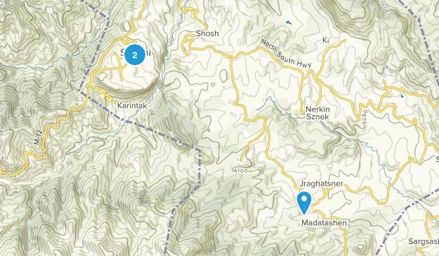 Shushi, Xocavənd Map