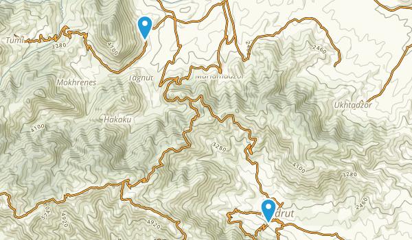 Togh, Xocavənd Map