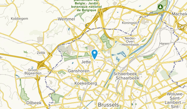 Brussel, Bruxelles-Capitale Map