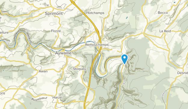 Aywaille, Liège Map