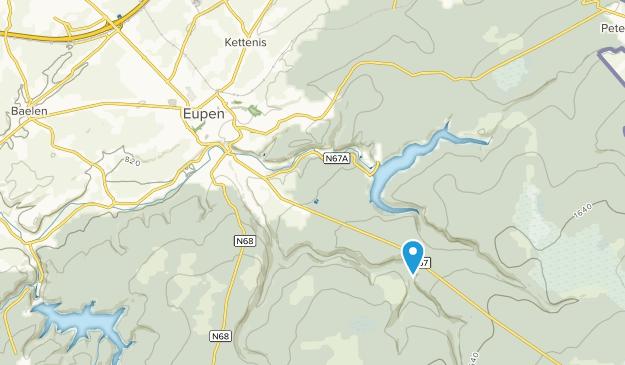 Eupen, Liège Map