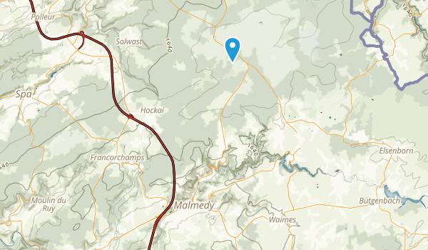 Malmédy, Liège Map