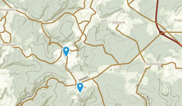 Marche-en-Famenne, Luxembourg Map