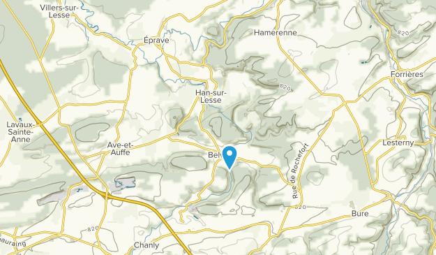 Rochefort, Namur Map