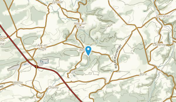 Belvaux, West-Vlanderen Map