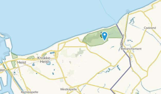 Knokke, West-Vlanderen Map