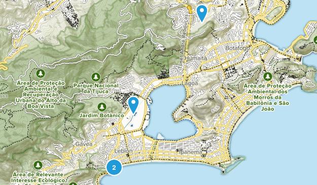 Leblon, Rio de Janeiro Map