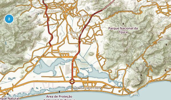 Rio de Janeiro, Rio de Janeiro Map