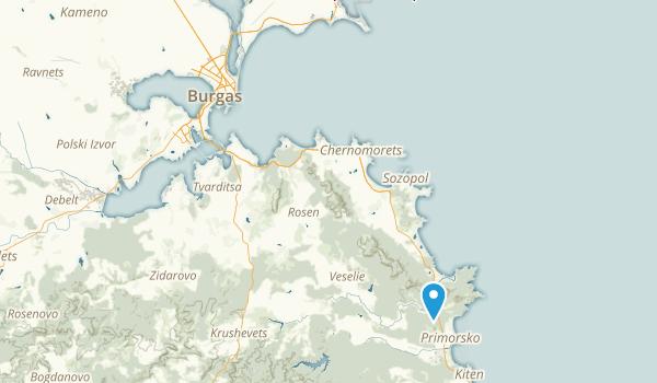 Burgas, Burgas Map