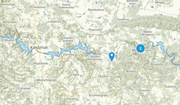 Oteshari, Kardzhali Map