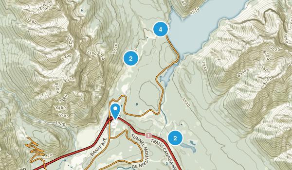 Anthracite, Alberta Map