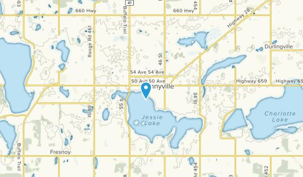 Bonnyville, Alberta Map
