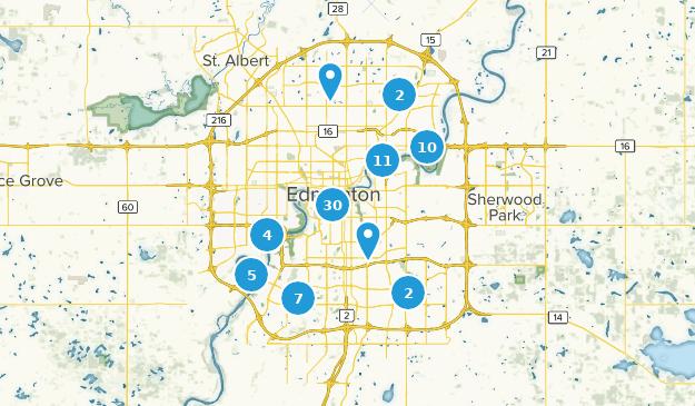 Edmonton On Map Of Canada.Best Trails Near Edmonton Alberta Canada Alltrails