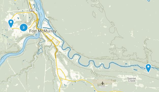 Fort McMurray, Alberta Map