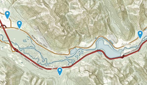 Gap, Alberta Map