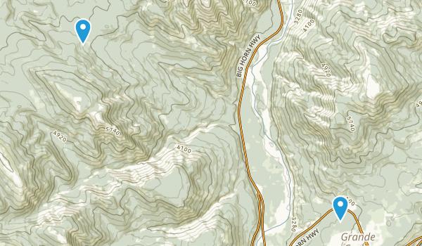 Greenview No 16, Alberta Map