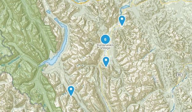 Kananaskis Village, Alberta Map