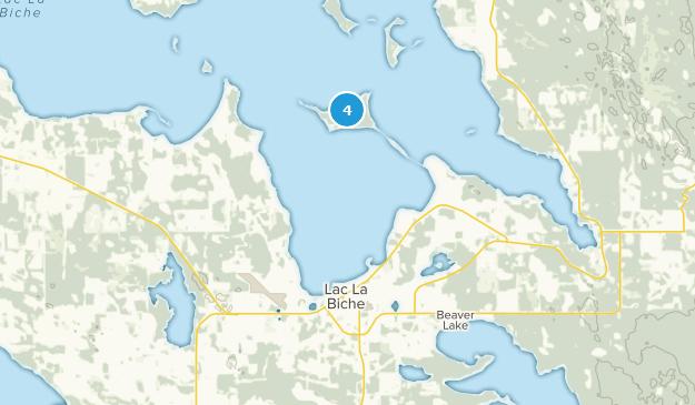 Lac La Biche, Alberta Map