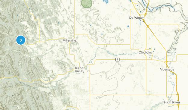 Millarville, Alberta Map
