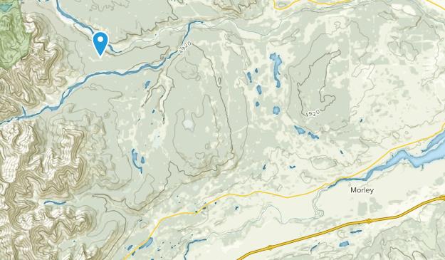 Morley, Alberta Map