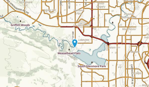 Mount Royal University, Alberta Map
