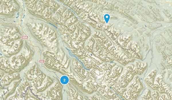 Mountain Park, Alberta Map