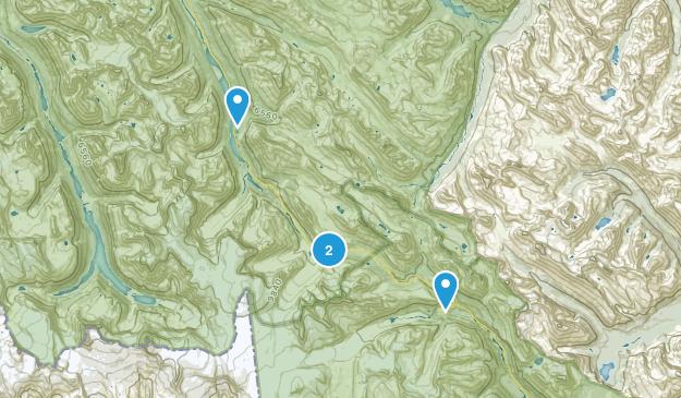 Nordegg, Alberta Map