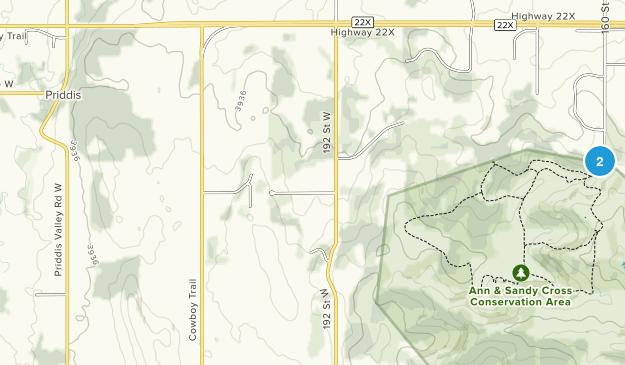Priddis, Alberta Map