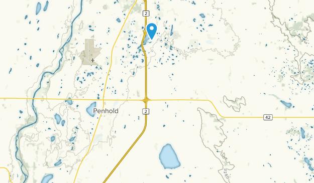 Red Deer County, Alberta Map