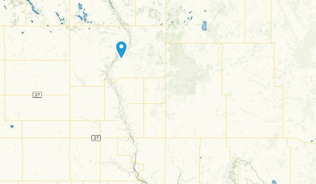 Rumsey, Alberta Map