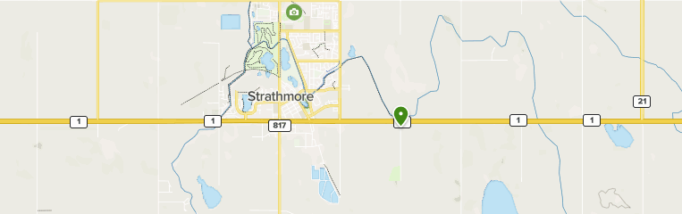 Map Of Strathmore Alberta Canada Best trails in Strathmore, Alberta | AllTrails