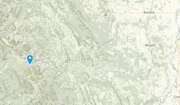 Sundre, Alberta Map