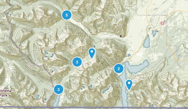Waterton, Alberta Map