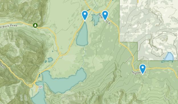 Waterton Lakes, Alberta Map